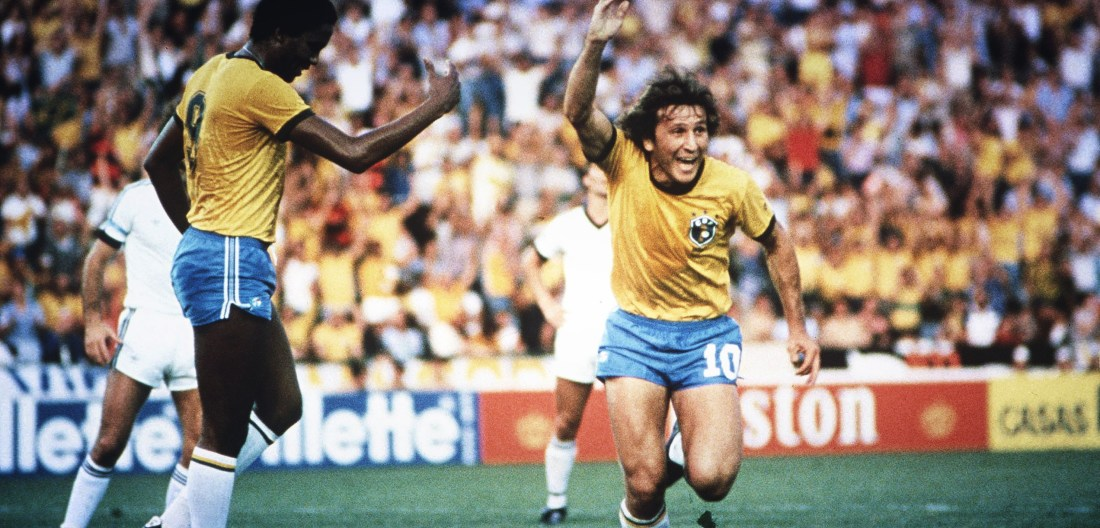 Zico at the 1982 World Cup